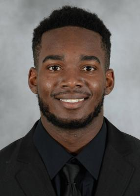 Senior football wide receiver D'Mauri Jones wins first place at annual Student-Athlete Talent Show