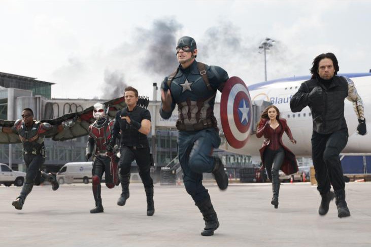 Marvel's 'Captain America: Civil War' divides Avengers into teams