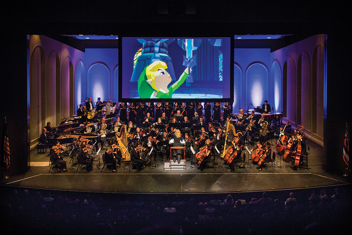 "A concert tour themed after the ""Legend of Zelda"" video game series will take the stage at the Adrienne Arsht Center Saturday evening. Photo courtesy JMPP"