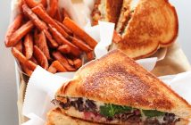 The Short Rib Melt and Buffalo Chicken Melt are two of the unique grilled cheese sandwiches available at Ms. Cheezious' second store-front location in Coral Gables. Hallee Meltzer // Photo Editor