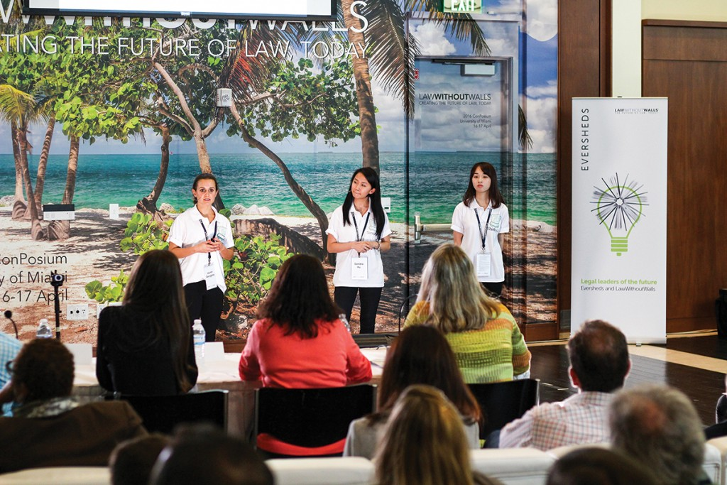 Legal projects, innovations presented at LawWithoutWalls