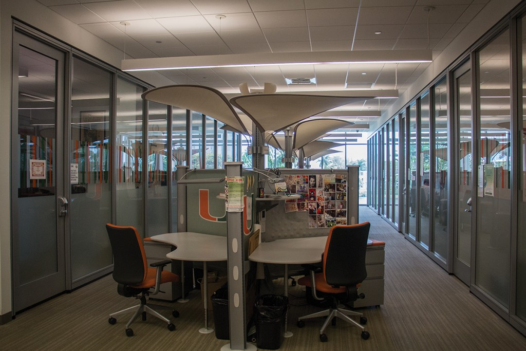 The student organization suites in the Shalala Student Center is home to some of the student organizations on campus. The Student Center Complex Advisory Council announced office assignments on Friday.