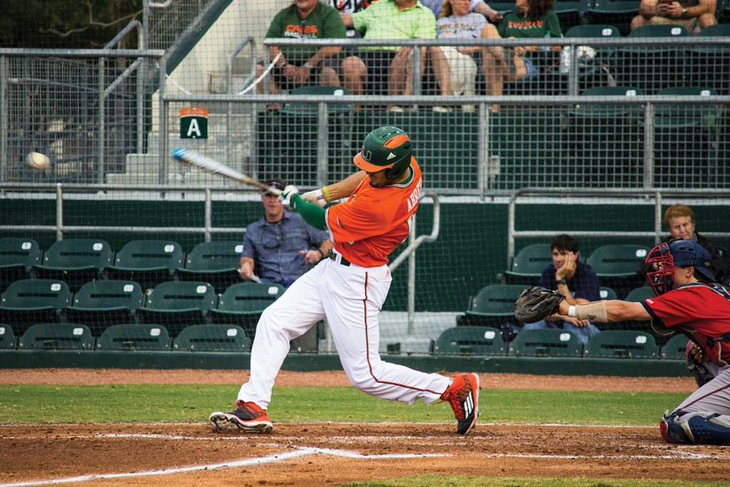 Top-ranked Miami baseball falls 4-3 to Florida Atlantic