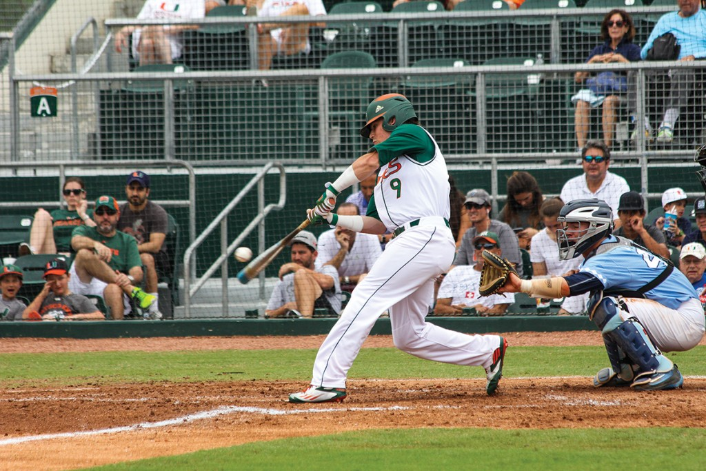Hurricanes baseball sweeps North Carolina with 7-4 win