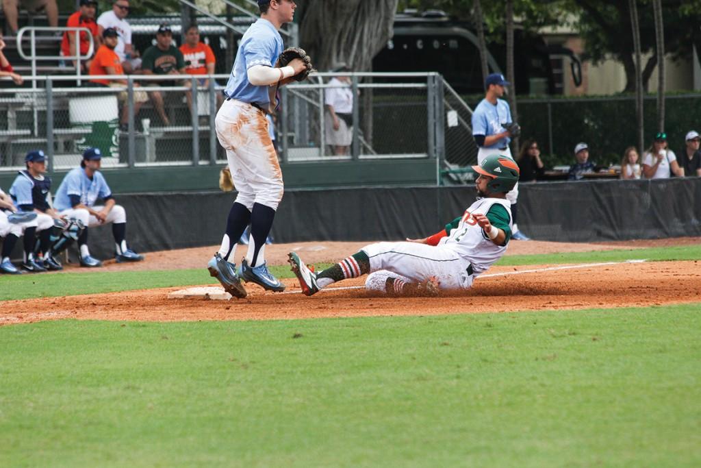 Miami baseball takes weekend series against Duke with 9-0 shutout