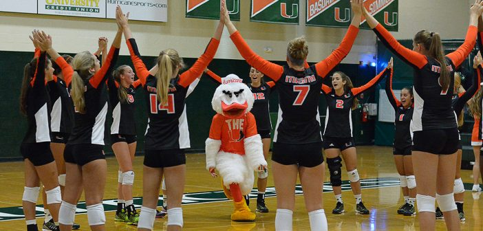 Miami volleyball season opens with win over Florida A&M