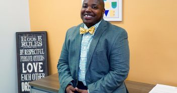 """Dr. Vanidy """"Van"""" Bailey is the inaugural director of the new LGBTQ Student Center, a resource for gay, lesbian, bisexual, transgender, queer and questioning students. Hunter Crenian // Staff Photographer"""