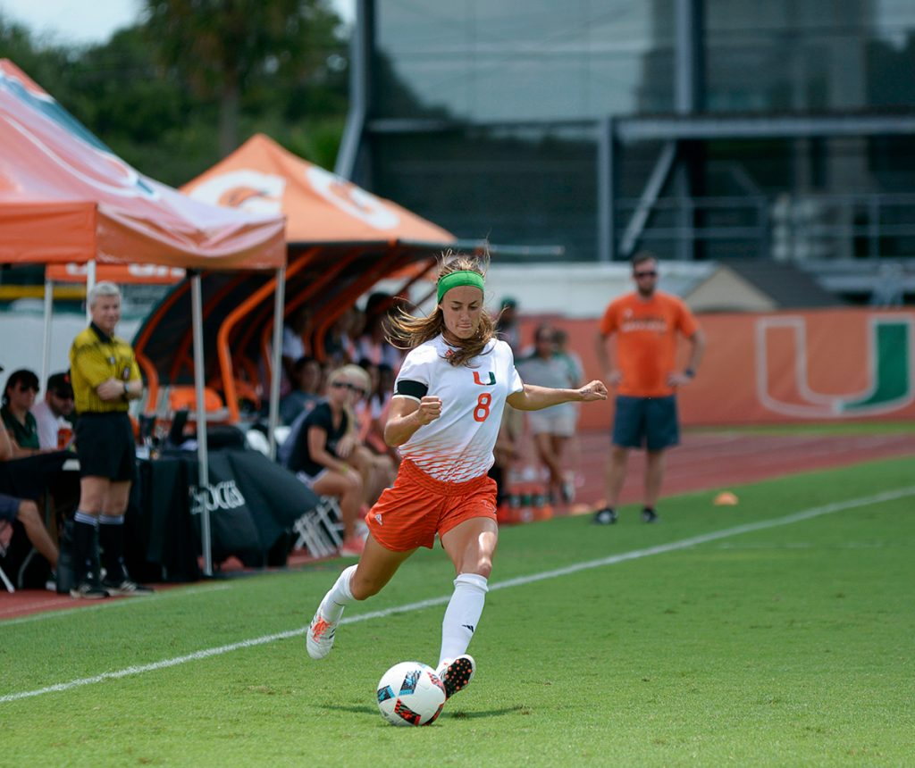 Hurricanes soccer defeats Jacksonville University Dolphins, 7-0