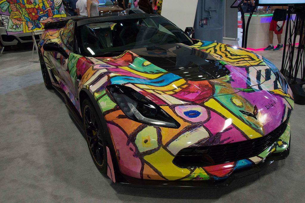 Exhibits at Miami International Auto Show