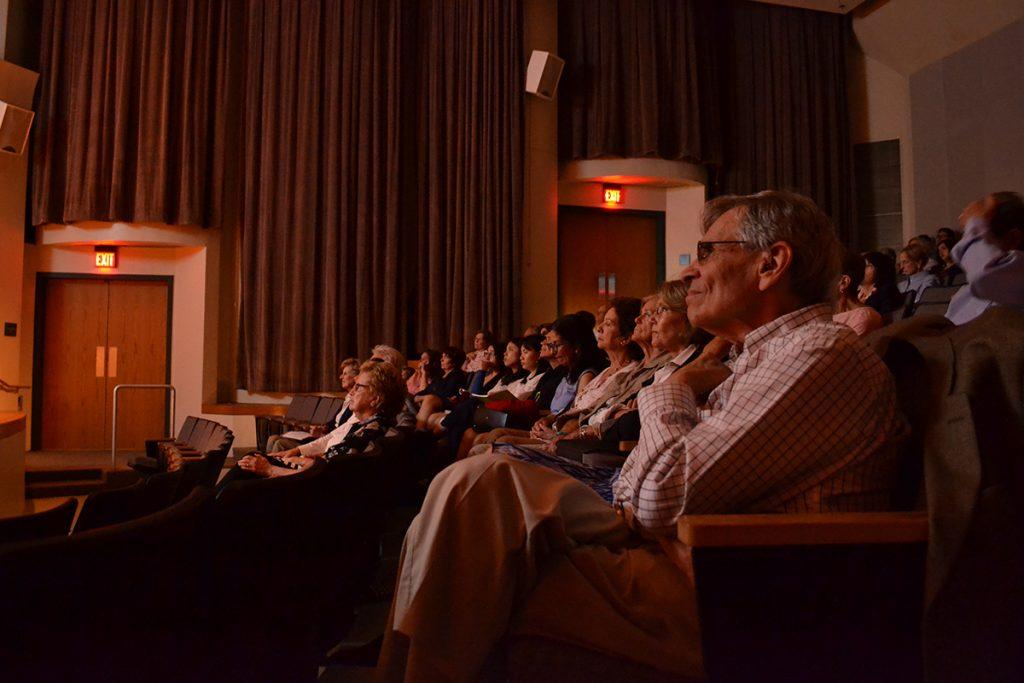Professor concludes lecture series, discusses individual perception