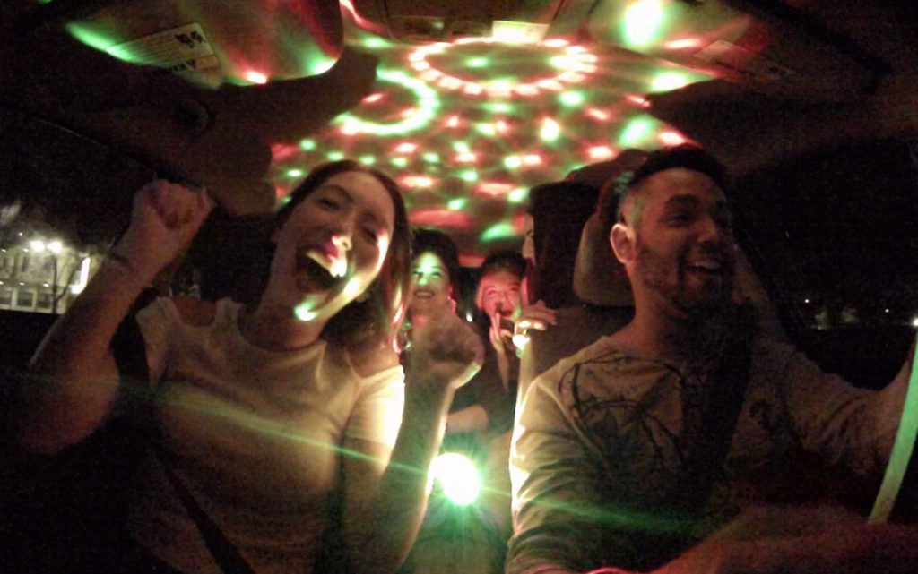 Uber driver treats passengers to in-car concerts