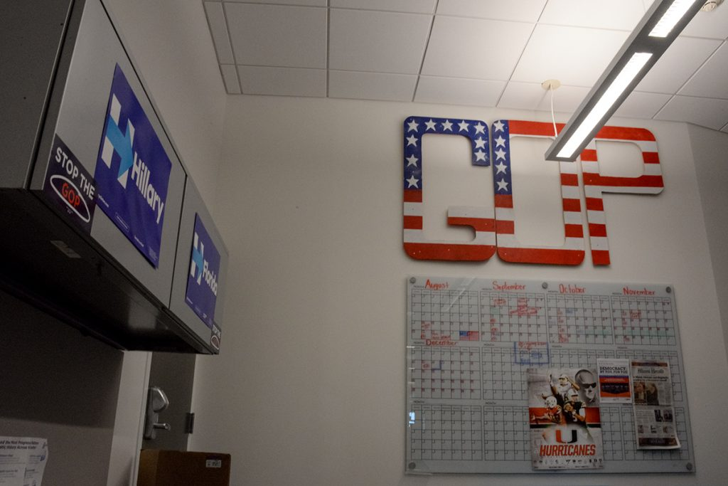 College Republicans, Democrats share office space for first time