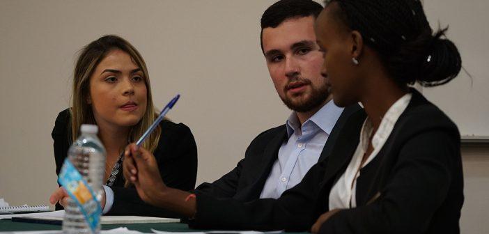 Rwandan visitors share benefits of debating