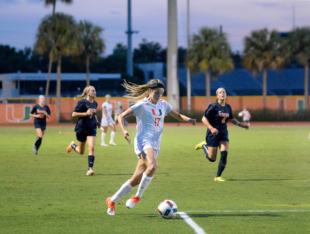 Hurricanes women's soccer scores huge victory over No. 2 Virginia