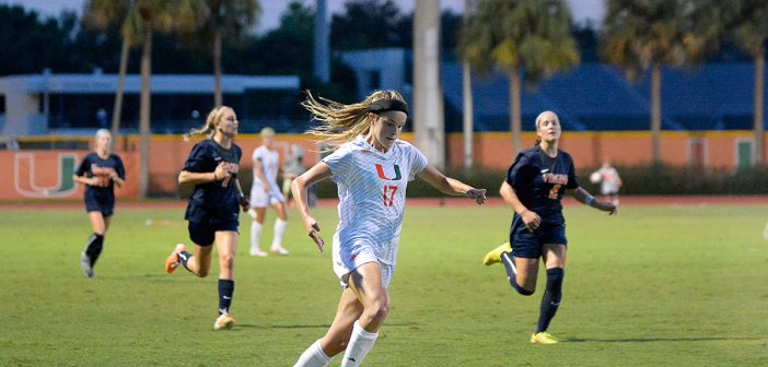 Hurricanes women's soccer scores huge victory over No. 2 Virginia