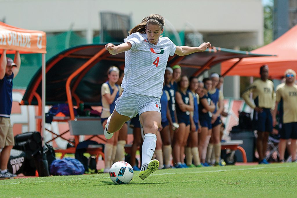 Canes soccer falls to No. 12 Notre Dame 2-0, will enter the ACC Championship as No. 7 seed