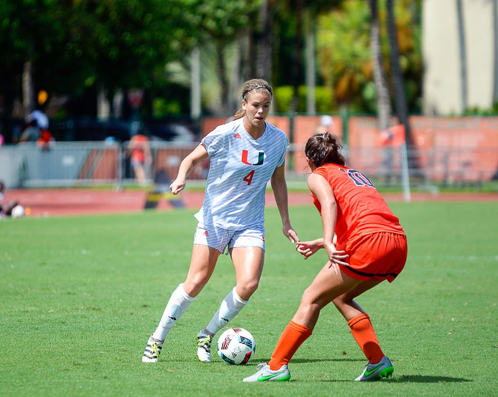 Canes soccer stays on a roll, beats the Orange 2-0