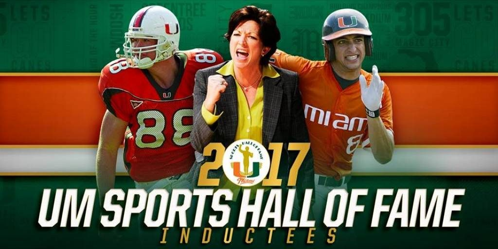 Miami plans to welcome 9 members to Sports Hall of Fame