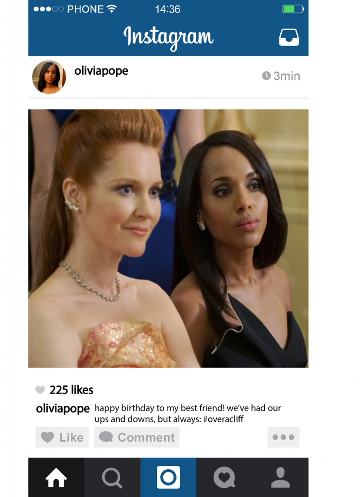 The View: The life of Olivia Pope through Instagram