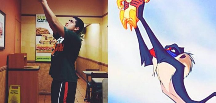 Meatball Mondays duo recreates pop culture photos with sub-themed twist