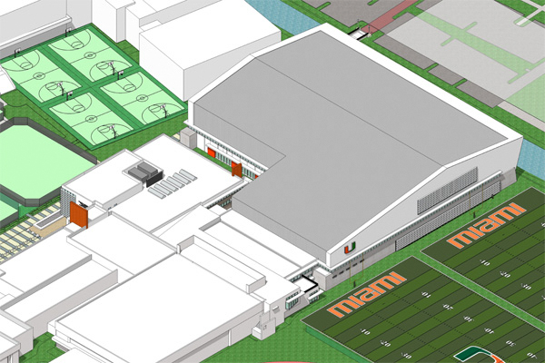 Plans for new facility brings excitement to the U