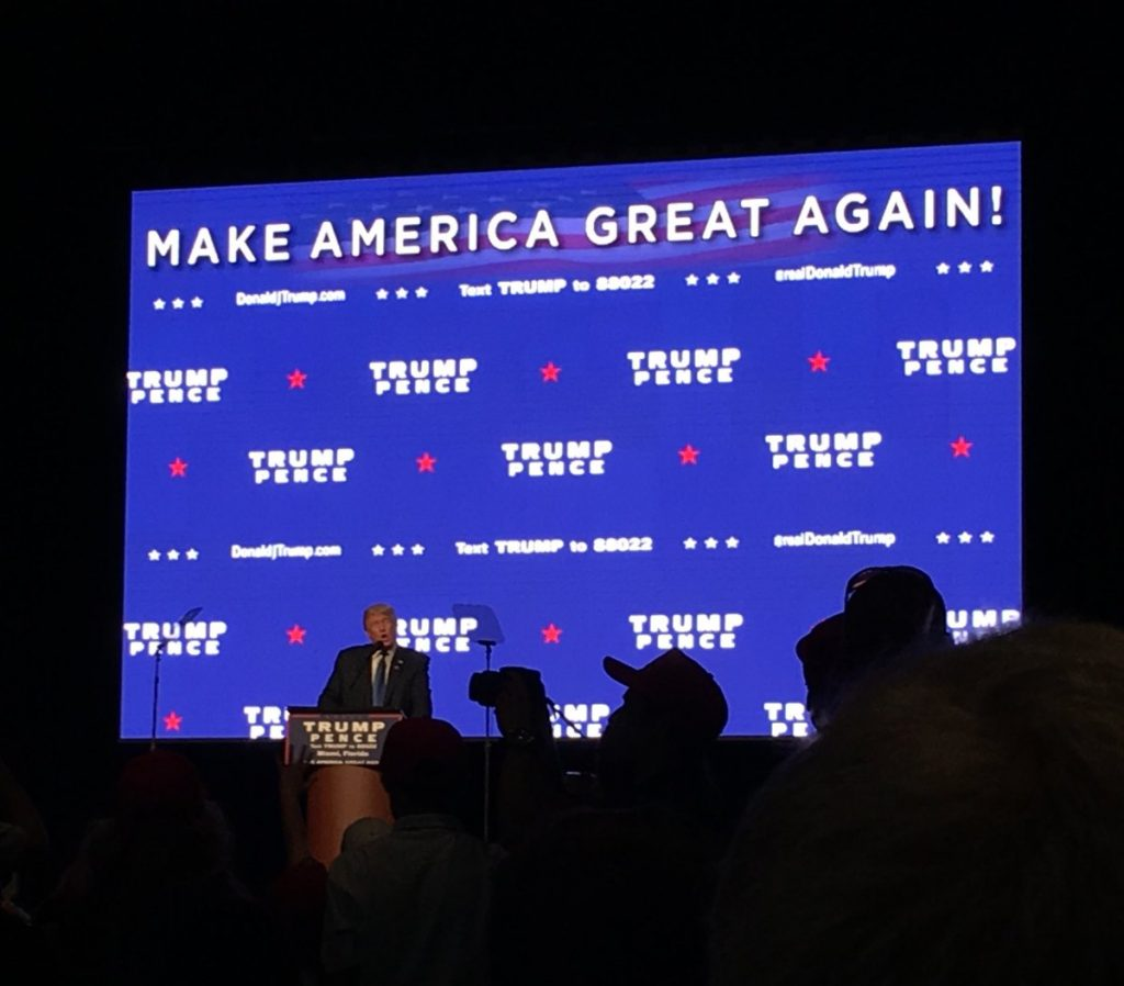 UBuzz: Thoughts from my experience at Donald Trump's rally in Miami