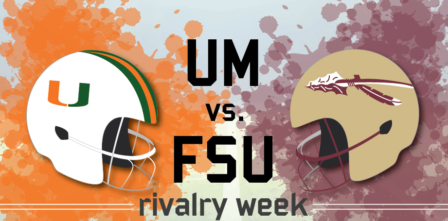 Hurricanes seek to outplay underdog Seminoles in 61st rivalry matchup