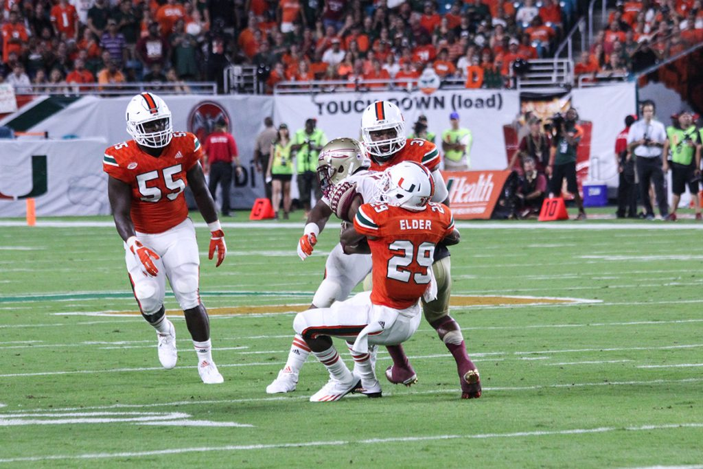 Hurricanes football seniors look to make most of their final games