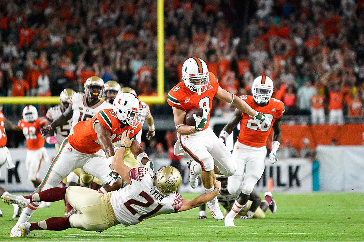 Gallery: Miami vs FSU – The Miami Hurricane