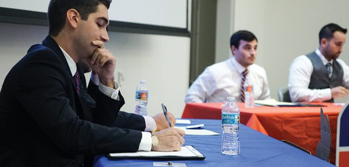 Student debate marks departure from antagonistic political climate