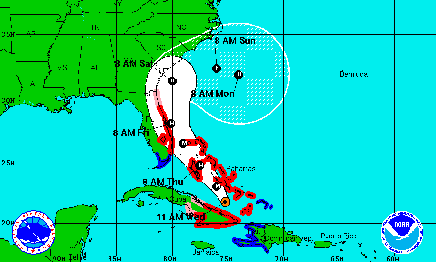 Hurricane Matthew weakens, warnings downgraded