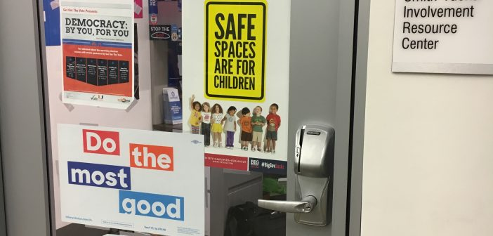 College Republicans' 'Safe Spaces are for Children' sign draws criticism