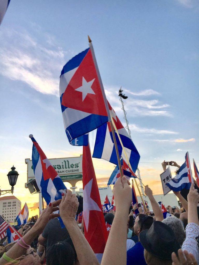 Miami's Cuban community rejoices at the end of Castro era