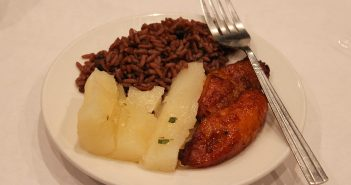 Yuca, maduros and Moros y  Cristianos are three traditional Cuban cuisine side dishes. Hallee Meltzer // Photo Editor