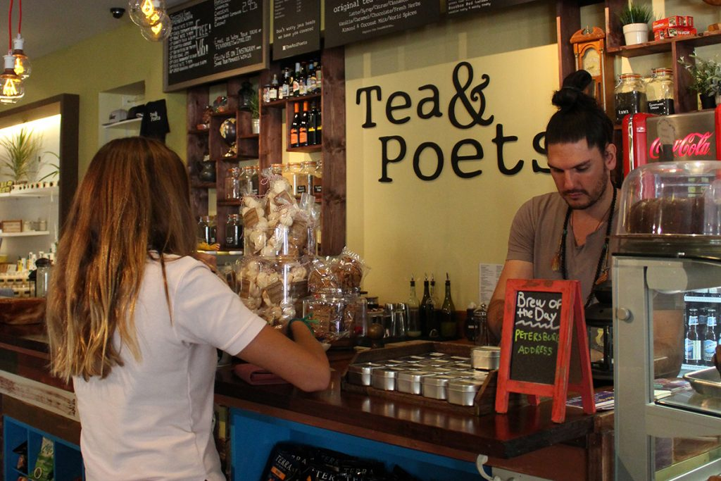 Tea room creates perfect blend of tea, local market, performance venue
