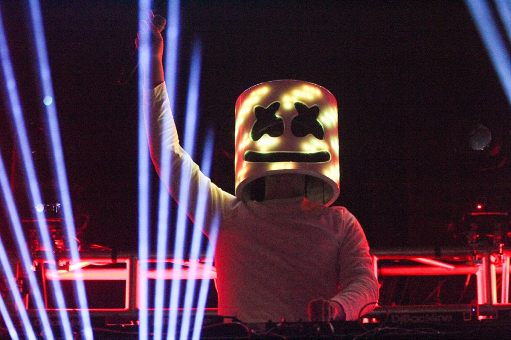 Marshmello, Homecoming Concert Thursday November 3, 2016 Victoria McKaba // Photo Editor