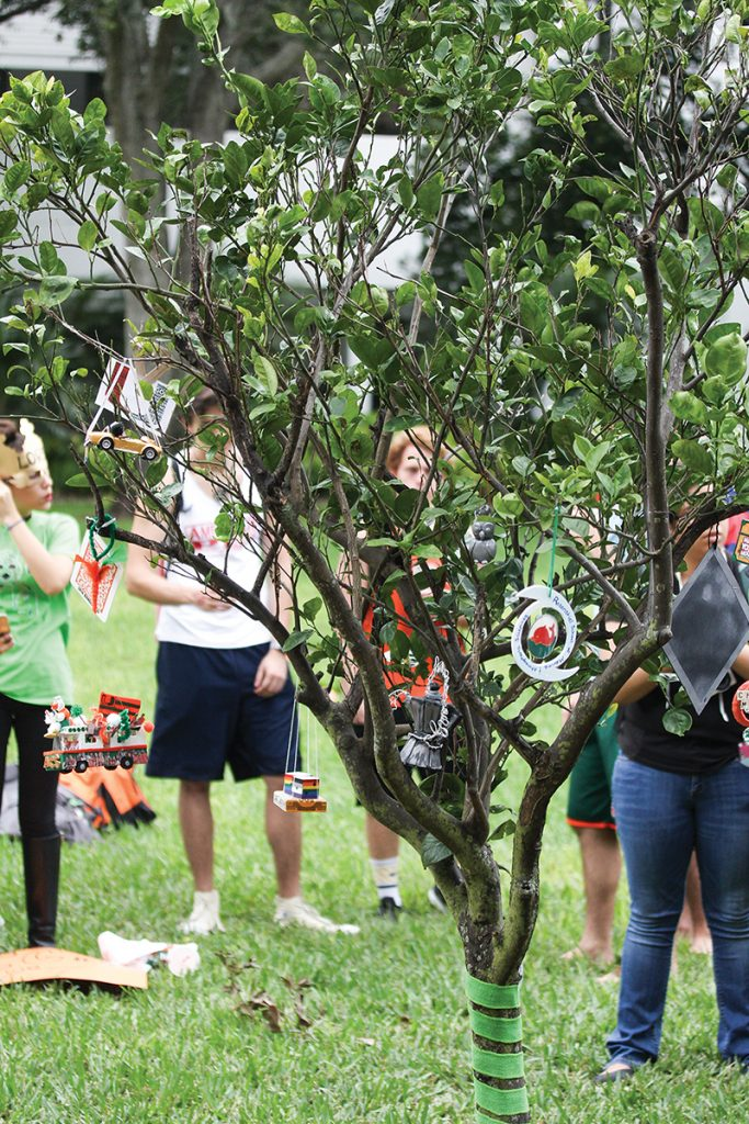 COISO, ACS, UBS highlight ties to campus in Spirit Tree tradition