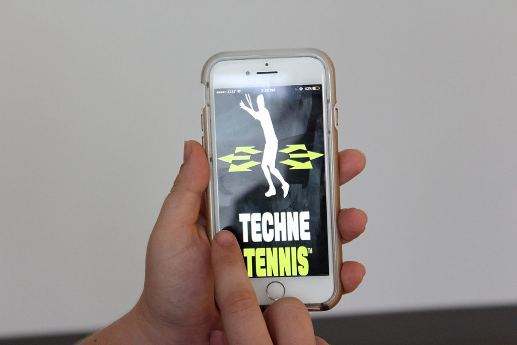 UM alumnus creates new way to improve tennis skills