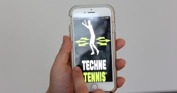 John Eagleton's app, Techne Tennis, which provides tennis techniques and performance guides for coaches and players, is available now for iOS devices. Hallee Meltzer // Photo Editor