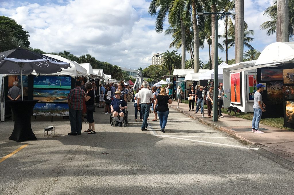 Beaux Arts Festival fills campus with art to support Lowe Museum