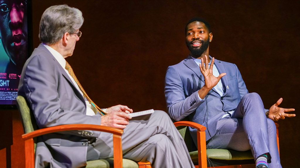 Cosford Cinema hosts 'Moonlight' screening, discussion with playwright Tarell McCraney