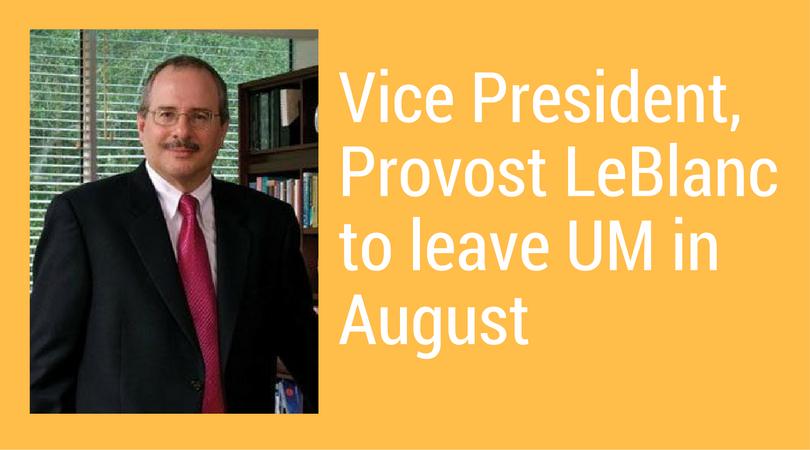 Provost Thomas J. LeBlanc to become next president of George Washington University