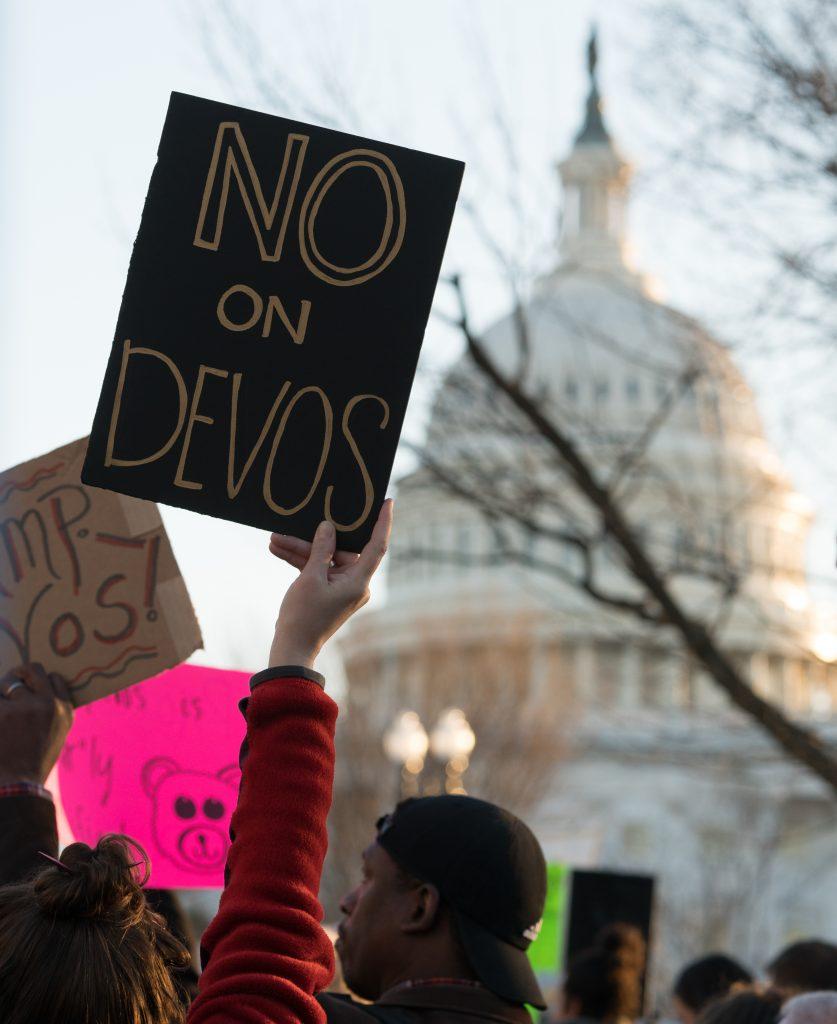 Betsy DeVos poses danger to public education