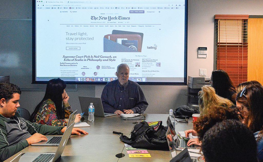 Journalism education tries to adapt to credibility challenges