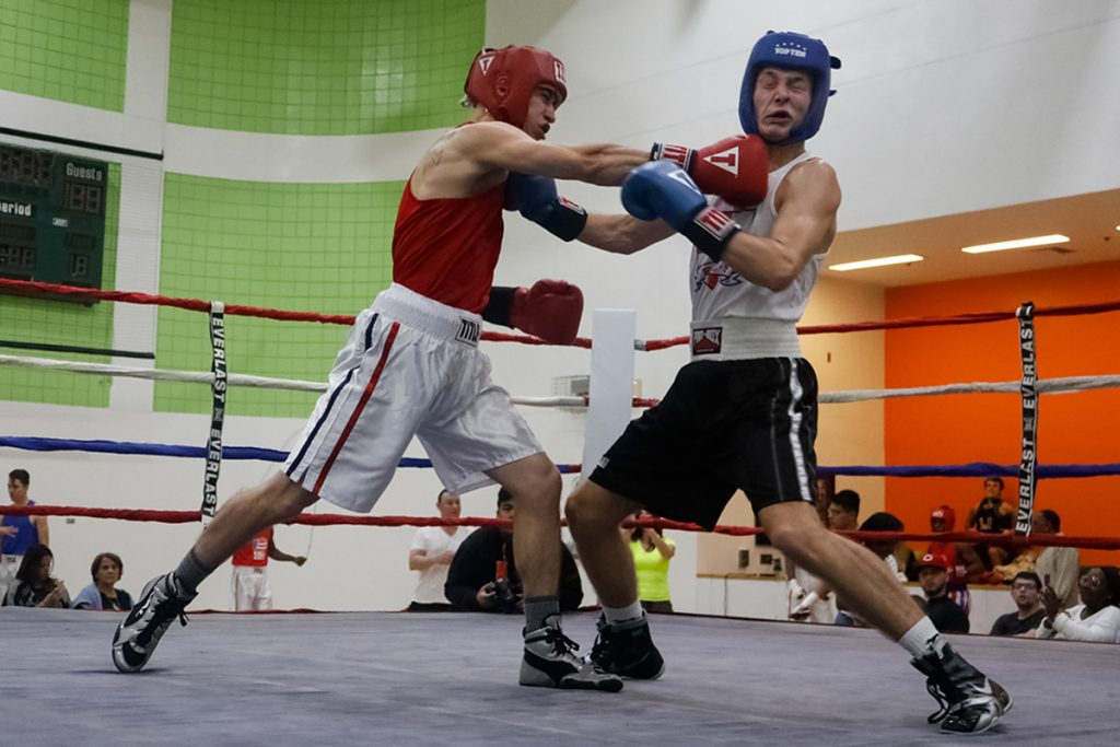 Photo of the Week: Boxing swings into action