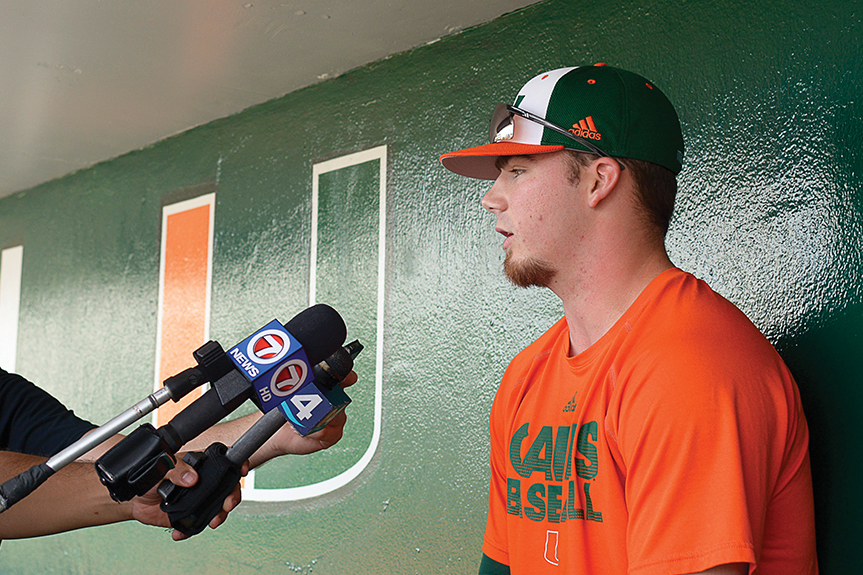 Hurricanes baseball prepares to utilize different strategy, new faces for upcoming season