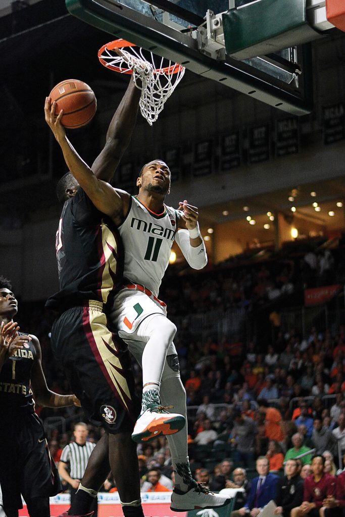 Miami loses momentum in second half, falls to No. 15 Florida State 75-57