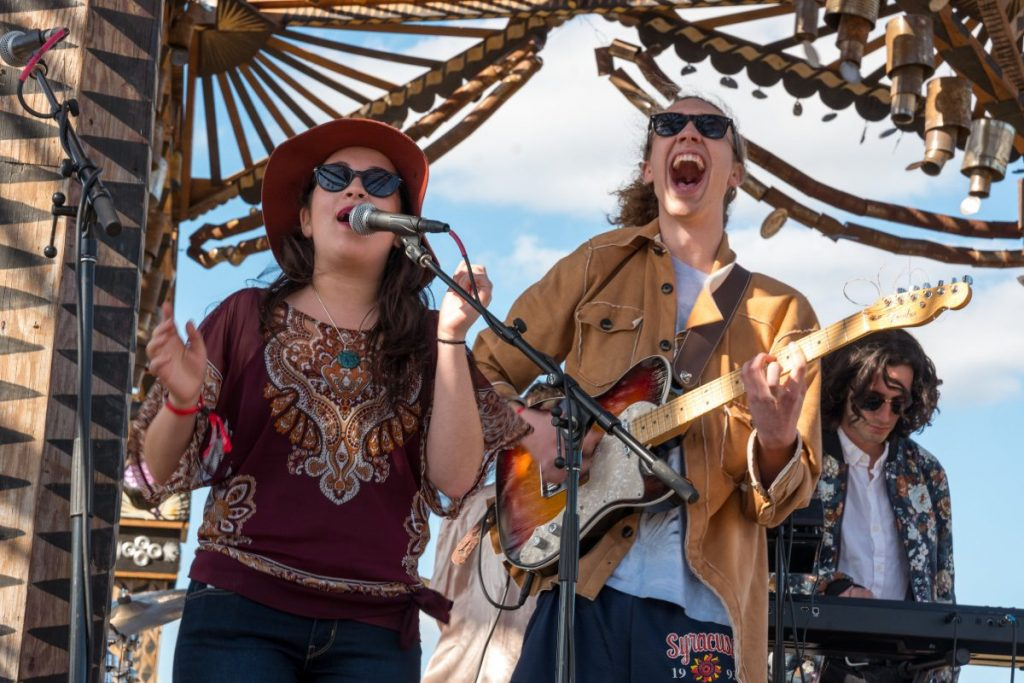 Frost group American Music Ensemble performs for first time at Okeechobee Fest