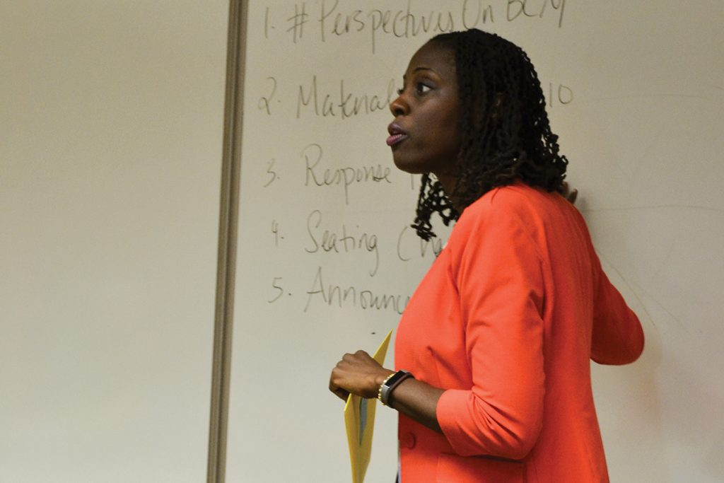 Black Lives Matter course creates room for debate with guest speakers, social media