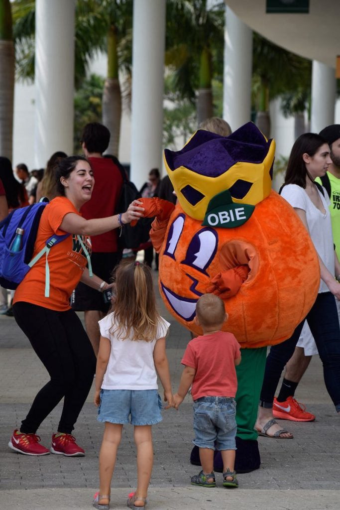 Orange Festival celebrates campus traditions